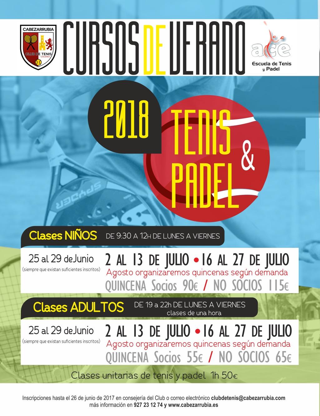 52ef47f9aec Tenis y Pádel archivos - Club de Tenis Cabezarrubia