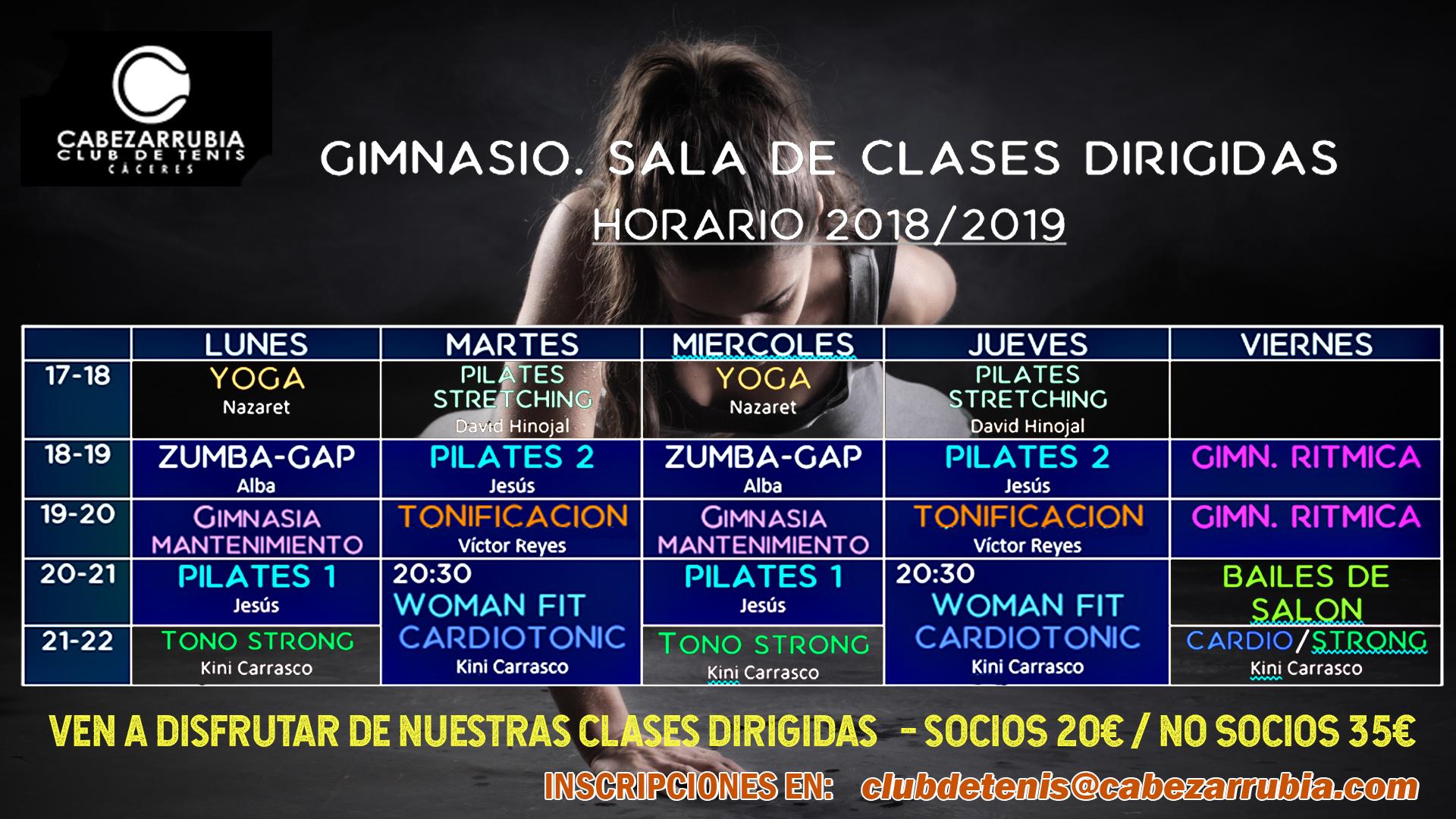 CARTEL CLASES
